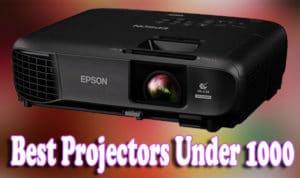Best Projectors Under 1000 Review