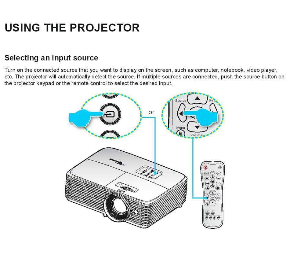 Image of Optoma HD243X User Manual